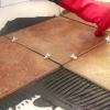 Instalación de azulejos diagonales
