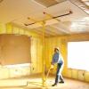 Instalación de paneles de yeso en techos, arcos y alrededor de curvas
