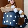 Traje de halloween para niños: una taza de chocolate caliente