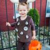 Niños traje de halloween: elefante en una cacharrería