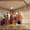 Iluminación de la cocina y suelos