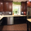 Planificación de una disposición de la cocina con gabinetes nuevos