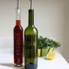 Hacer botellas de aceite y vinagre grabadas a partir de botellas de vino upcycled