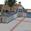 Opciones para una cocina exterior asequible
