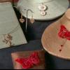 Collares de mariposa de alta costura de papel