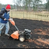 Preparación del suelo para un jardín
