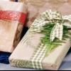 Rápida papel de regalo estarcido