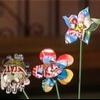 Flores aluminio reciclado