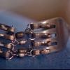 Pulsera de plata tenedor