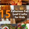 15 Fabulous Fall Leaf Manualidades para niños
