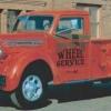 1949 Diamond t modelo 201 pickup