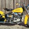 1954 Harley-davidson fl hidra-deslizamiento