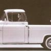 1955 portadora cameo Chevrolet