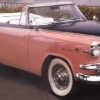 1955 de Dodge convertible costumbre de profesión real