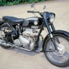 1957 Ariel 4g mk ii