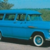 1957 Chevrolet 3106/3116 carryall suburbana