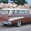 1957 Chevrolet dos hasta diez