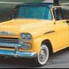 1.958 portadora cameo Chevrolet