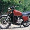 1975 ala del oro de Honda GL1000