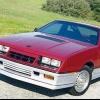 1984-1990 de Dodge turbo daytona z y z shelby