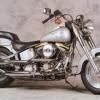 1990 Harley-davidson chico gordo FLSTF