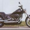 2002 Harley-davidson noche FXSTB tren