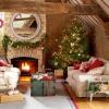 30 maneras impresionantes para decorar tu sala de estar para la Navidad