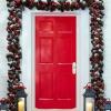 60 maravillosamente festivas maneras de decorar su porche para Navidad