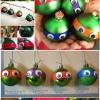 Adorable Bricolaje Adornos Tortuga Ninja Navidad