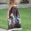 Adorable DIY verano Sundress Niño