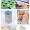 Colección impresionante de la Artesanía de cinta DIY Washi