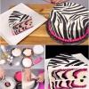 El bicarbonato de una manera fácil y deliciosa cebra rosada Cake {Instrucciones} Vídeo
