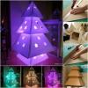 Proyecto Navidad Brillante: DIY Árbol de Navidad de cartón