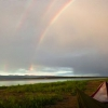 ¿Podría haber un triple arco iris?