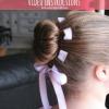 Lindo peinado: Flor Moño con la cinta tejida - Instrucciones de Vídeo