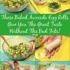 Delicioso aguacate Egg Rolls - El más saludable Cheesecake Factory Alternativa