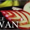 Delicioso Food Art: Cómo crear deliciosa manzana Cisne