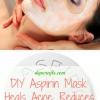 DIY máscara Aspirina: Cura el acné, reduce la hinchazón y le da más clara de la piel