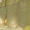 Botellas de bricolaje brillado Izze - perfecto para los floreros y otros adornos