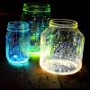 Bricolaje ideas de la boda Decoración - Tarros Glow Hermosas