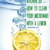 Más fácil Método de limpieza Microondas - Cómo limpiar su horno Con Un Limón
