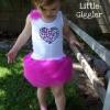 Fácil y barato DIY vestido de fiesta para niños pequeños - sólo cinco dólares para hacer