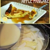 Fácil receta deliciosa: Apple abultada Crepe, perfecto para el desayuno o postre