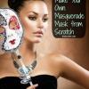 DIY fabuloso - Haga su propia máscara de la mascarada desde cero