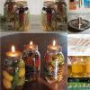 Fabuloso DIY perfumada del tarro Mason Oil Candles