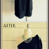 Proyecto DIY Fashion - No-Cosa de un hombro-Shirt