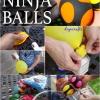 Siente estresado o desea tomar hasta hace juegos malabares? Aquí es cómo hacer sus propias bolas de Ninja!