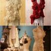 GRATIS patrón de ganchillo: Gorgeous Bufanda de encaje irlandés con Rosas