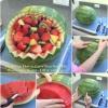 Diversión con sabor a fruta: Cómo Tallar su muy posea Sandía Basket