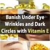 Tratamiento de belleza Genius Frugal: Desterrar Bajo arrugas y ojeras con vitamina E
